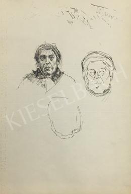 Húth István - Férfi portré variáció