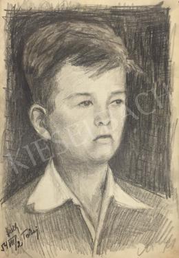 István Húth - Portrait of a Child