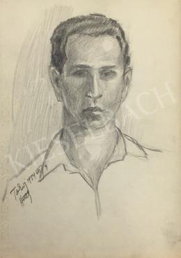 István Húth - Portrait of a Man