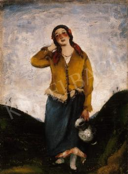 Rudnay, Gyula - Girl with a Pitcher