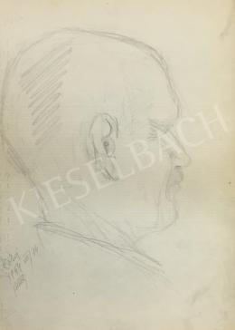 Húth István - Férfi portré