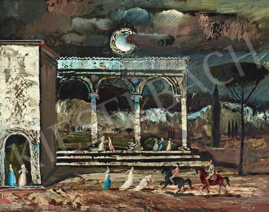 Molnár C. Pál - Reneszánsz emlék (Itália) | 58. Tavaszi Aukció aukció / 2 tétel