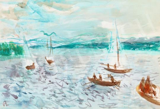 Bernáth, Aurél - Sailing Boats on Lake Balaton | 58th Spring Auction auction / 4 Item