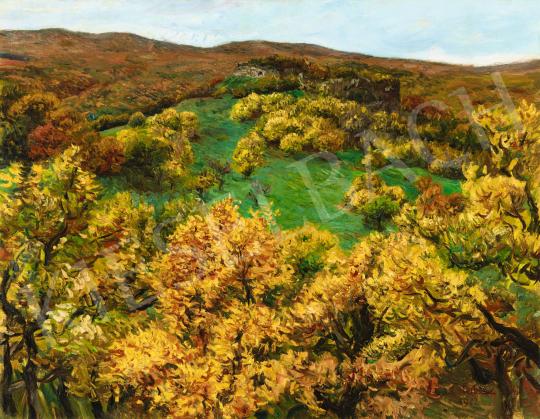 Glatz Oszkár - Az ősz színei, 1922 | 58. Tavaszi Aukció aukció / 13 tétel