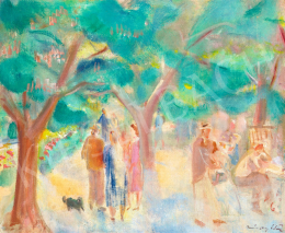 Márffy, Ödön - Sunday Afternoon in the Park, c. 1930