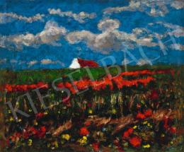 Koszta, József - Poppy Field (Storm is Coming), 1920s