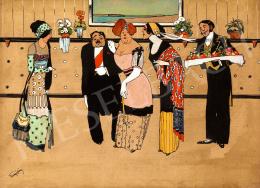 Faragó Géza - Fogadás, 1910-es évek