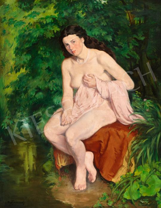 Mattyasovszky-Zsolnay László - Vízparton (Nimfa), 1925 | 58. Tavaszi Aukció aukció / 41 tétel