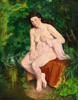Mattyasovszky-Zsolnay László - Vízparton (Nimfa), 1925