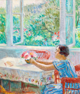 Boldizsár, István - Summer Day (Bouquest from the Garden), 1934