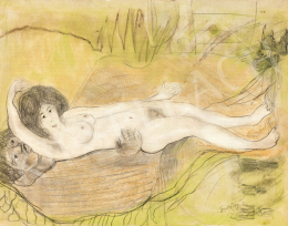 Gulácsy, Lajos - Love in Na'Conxypan, c. 1910