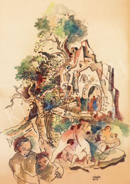 Kádár, Béla - Garden Party