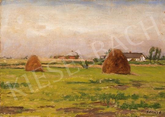 Fényes Adolf - Alföldi tanya | 18. Aukció aukció / 34 tétel