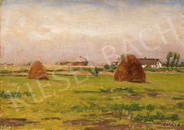Fényes, Adolf - Detached Farm in the Great Plain
