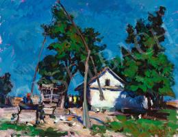 Boldizsár István - Nyári kék égbolt (Zánka)
