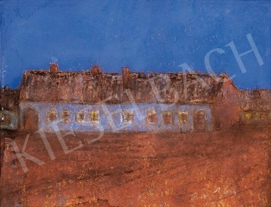 Rippl-Rónai József - Tanya kék égbolt alatt | 18. Aukció aukció / 37 tétel