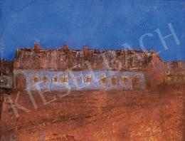 Rippl-Rónai József - Tanya kék égbolt alatt
