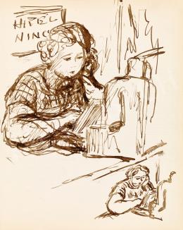 Bortnyik Sándor - Szerelmes regény és pihenő pénztárgép (Hitel nincs), 1944
