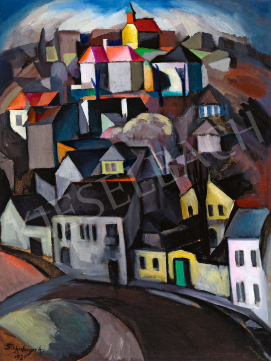 Schönberger, Armand - Art Deco City (Rose Hill), 1930 | 58th Spring Auction auction / 111 Item