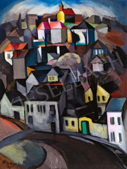 Schönberger Armand - Art deco város (Rózsadomb),1930