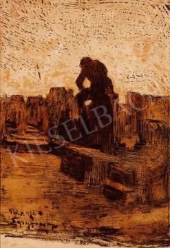 Egry József - Szajnaparton | 18. Aukció aukció / 40 tétel