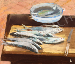 Bernáth, Aurél - Still-Life with Fish, 1947