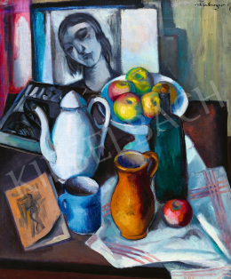 Schönberger, Armand - Studio Still-Life with Painting and Magazine