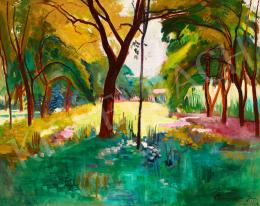 Bornemisza Géza - Árnyas kert (Nábrádi kert), 1928
