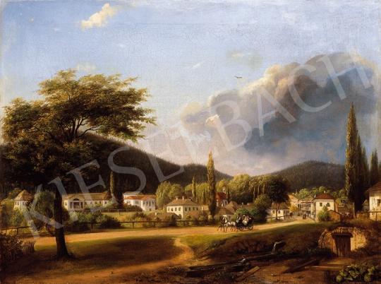 Sterio Károly - Bártfa látképe | 18. Aukció aukció / 43 tétel