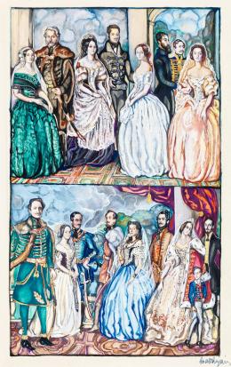 Batthyány Gyula - Reformkor (Magyar arisztokraták) (báró Eötvös József, gróf Batthyány Lajos, gróf Dessewffy Aurél, gr