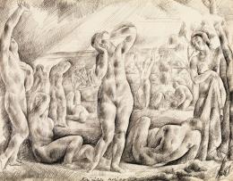 Patkó, Károly - Niobé Sketch, 1923