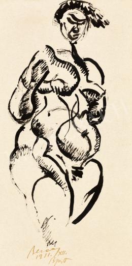 Berény Róbert - Női akt, 1911