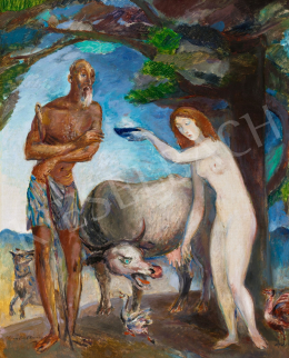 Kernstok, Károly - Saint Anthony's Temptation, c. 1932
