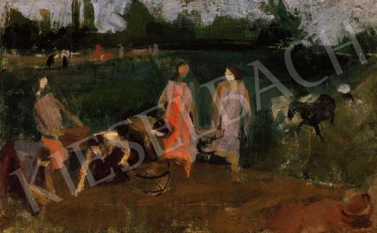 Berény Róbert - Krumpliszedők | 18. Aukció aukció / 46 tétel
