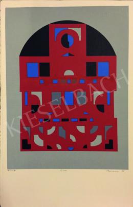 Barcsay, Jenő - Mosaic Plan - Hommage á Bartók (32 print) Budapest-Paris, 1978-1979
