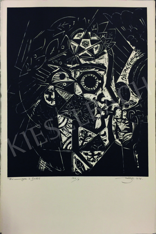 Hincz Gyula - Bartók pásztori furulya - Hommage á Bartók (Emlékalbum, 32 lap) Budapest-Paris, 1978-1979   58. Tavaszi Aukció aukció / 205 tétel