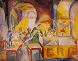 Schönberger, Armand - In the Coffee-House, 1921