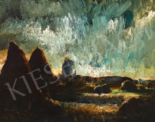 Paizs-Goebel Jenő - Drámai fények | 58. Tavaszi Aukció aukció / 161 tétel