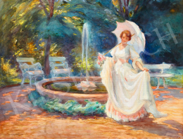 Eleőd, Karola (Vámossyné) - Rendezvous (Castle Park), 1920