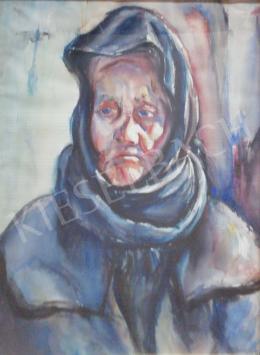 Gallé Tibor - Idős hölgy, 1931