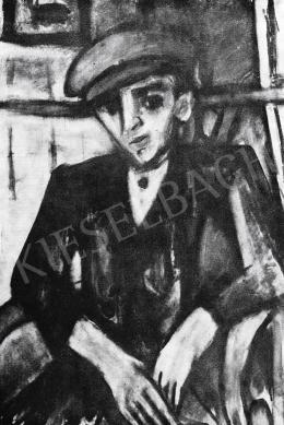 Czóbel Béla - Munkásfiú, 1917