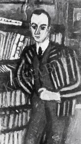 Czóbel Béla - Meyer úr arcképe, 1920