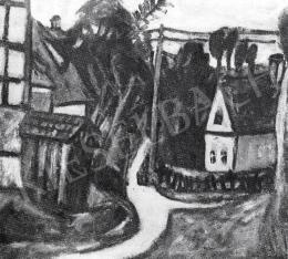 Czóbel Béla - Faluvége, 1922