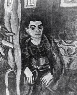 Czóbel Béla - Kernstok Károlyné arcképe, 1924