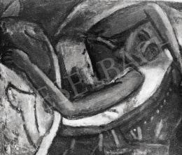 Czóbel Béla - Fekvő nő, 1922