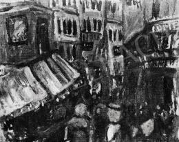 Czóbel Béla - Párizsi utca, 1926