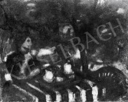 Czóbel Béla - Kertben, 1946