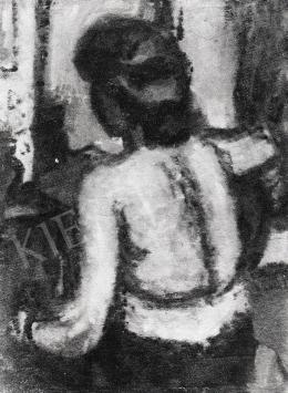 Czóbel, Béla - Back Nude, 1941