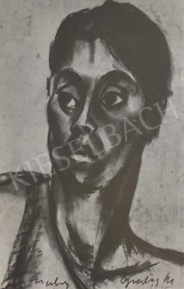 Gráber Margit - Cigánylány, 1918