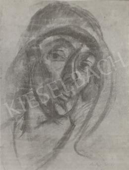Gráber Margit - Önarckép, 1921